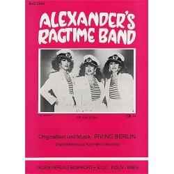 Berlin, Irving: Alexander's Ragtime Band Einzelausgabe (dt/en)