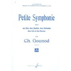 Gounod, Charles Francois: Petite symphonie : pour flûte, 2 hautbois, 2 clarinettes, 2 cors et 2 bassons, partition