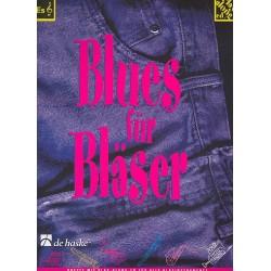 Kastelein, Jaap: Blues für Bläser (+CD) : für Es-Instrumente
