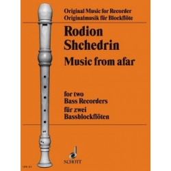 Shchedrin, Rodion Konstantinov: Music from Afar für 2 Baßblockflöten