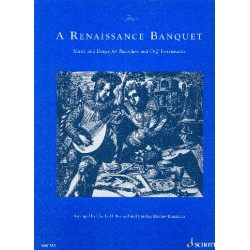 A Renaissance Banquet : Music and Dance for recorders and Orff Instruments score