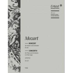 Mozart, Wolfgang Amadeus: Konzert Es-Dur Nr.9 KV271 : f├╝r Klavier und Orchester Viola