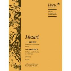 Mozart, Wolfgang Amadeus: Konzert Es-Dur Nr.9 KV271 : f├╝r Klavier und Orchester Harmonie