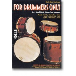 Chapin, Jim: For Drummers only (+CD) : drum set part