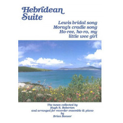 HEBRIDEAN SUITE : FOR SST (SSTT) RECORDERS AND PIANO -2SCORES- BONSOR, B., ED.
