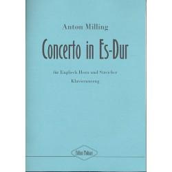 Milling, Anton: Concerto Es-Dur für Englischhorn und Streicher : für Englischhorn und Klavier