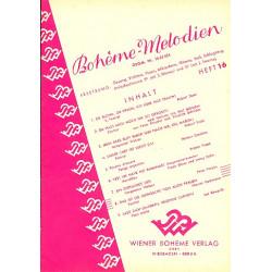 Bohème-Melodien Band 16 : für Gesang und Klavier (mit Instrumenten)