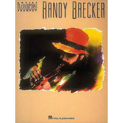 Brecker, Randy: Randy Brecker : Songbook for trumpet solo with accord symbols artist transcriptions