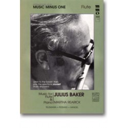 MUSIC MINUS ONE FLUTE : INTERMEDIA- TE CONTEST SOLOS BOOK+CD BAKER, JULIUS, FLUTIST