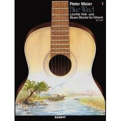 Meier, Peter: Blue Wind Band 1 : Leichte Folk- und Bluesst├╝cke f├╝r Gitarre