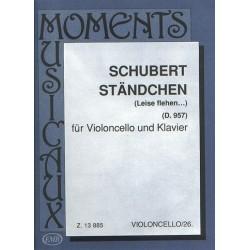 Schubert, Franz: Ständchen D957 für Violoncello und Klavier Leise flehen...
