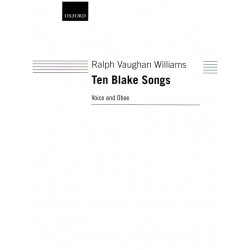 Vaughan Williams, Ralph: 10 Blake Songs : for voice and oboe