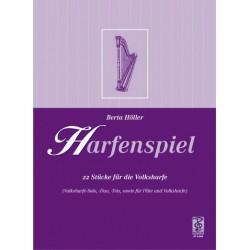 H├Âller, Berta: Harfenspiel : 22 St├╝cke f├╝r Volksharfe (Soli, Duos, Trios, teilweise mit Fl├Âte und Hackbrett)