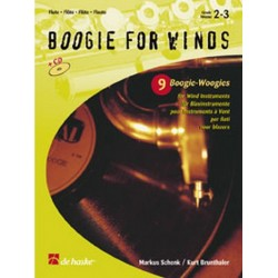 Schenk, Markus: Boogie for Winds (+CD) : 9 Boogie- Woogies for flute