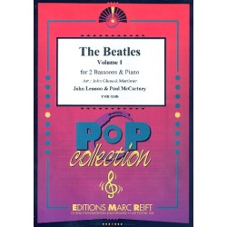 The Beatles vol.1 : for 2 bassoons and piano