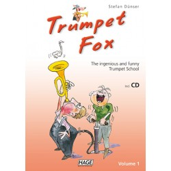 Dünser, Stefan: Trumpet Fox vol.1 (+CD) : The ingenious and funny Trumpet School