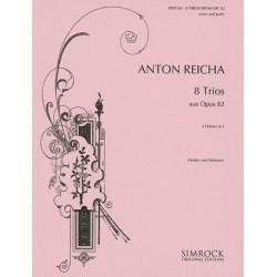 Reicha, Anton (Antoine) Joseph: 8 TRIOS : FUER 3 HOERNER IN E LELOIR, EDMOND, ED PARTITUR+2STIMMEN