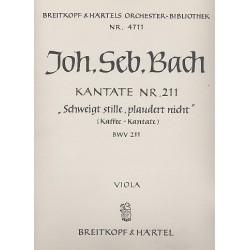 Bach, Johann Sebastian: Schweigt stille plaudert nicht Kantate Nr.211 BWV211 Viola