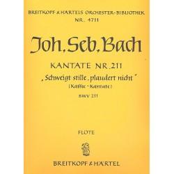 Bach, Johann Sebastian: Schweigt stille plaudert nicht Kantate Nr.211 BWV211 Harmonie (Flöte)