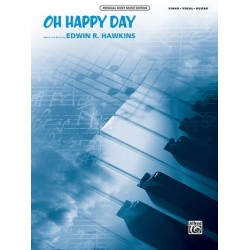 Hawkins, Edwin R.: Oh happy Day : for piano/vocal/guitar