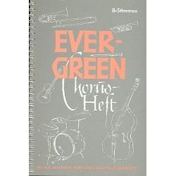Evergreen Chorusheft : B-Stimmen