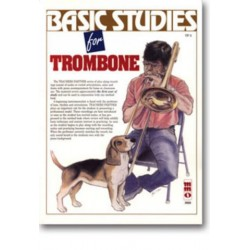BASIC STUDIES FOR TROMBONE : BOOK+CD TEACHERS PARTNER SERIES MUSIC MINUS ONE TROMBONE