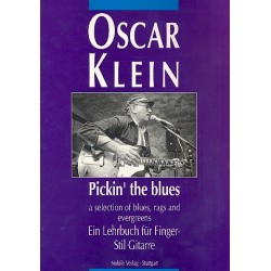 Klein, Oscar: Pickin' the Blues : a Selection of Blues, Rags and Evergreens