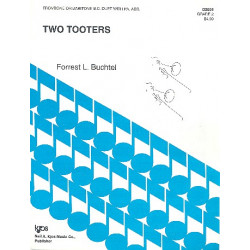 Buchtel, Forrest L.: Two Tooters : Trombone or baritone Bc duet and piano