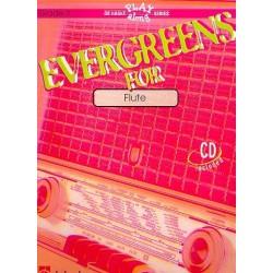 Evergreens (+CD) : for flute