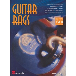 Jordans, Aaike: Guitar Rags : 8 Ragtimes f├╝r Gitarre