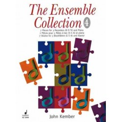 Kember, John: The Ensemble Collection vol.4 : 7 Stücke für 3 Blockflöten (SSA) und Klavier