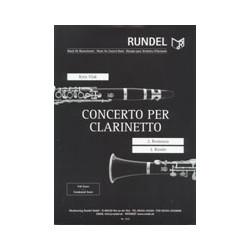 Vlak, Kees (Cornelius) (Llano): Romanza und Rondo aus dem Concerto für Klarinette und Blasorchester : Partitur und Stimmen