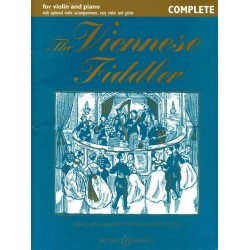 The Viennese Fiddler for violin and piano (violin 2, easy violin and guitar ad lib) score and part (complete edition)