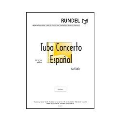 Gäble, Kurt: Tuba Concerto espanol : for tuba and concert band