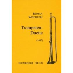 Weichlein, Roman: Trompetenduette Partitur