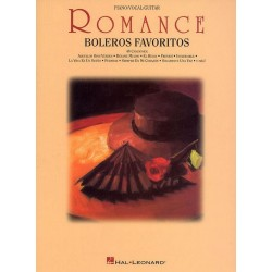 Romance : Boleros Favoritos 48 canciones for voice/piano/guitar
