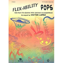Flex-Ability Pops : for viola solo duet trio quartet with optional accompaniment