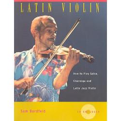 Bardfeld, Sam: Latin Violin (+CD) : How to play Salsa Charanga and Latin Jazz