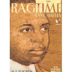 Joplin, Scott: Ragtime Favorites (+CD) : for flute
