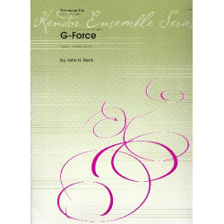 Beck, John Ness: G-Force for 3 snare drums score and parts