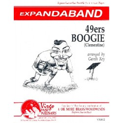 49ers Boogie (Clementine) : for flexible wind ensemble score and parts