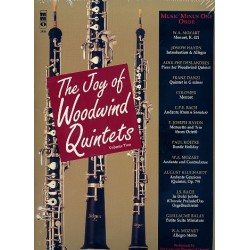 Music minus one (+ CD) : Joy of woodwind quintets vol.2