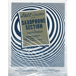 Niehaus, Lennie: 5 original Pieces : for 5 saxophones and optional rhythm section parts