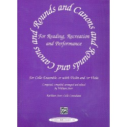 Starr, William: Rounds and Canons for cello ensemble : for reading, recreation and performance