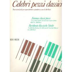 Celebri pezzi classici per organo elettronico o pianoforte