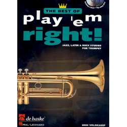 Veldkamp, Eric: The Best of Play 'em right (+2 CD's) : for trumpet