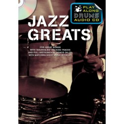 Playalong Drums - Jazz Greats : CD