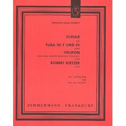 Kietzer, Robert: Schule op.84 : für Tuba in F/Es (Helikon)