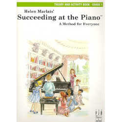 Marlais, Helen: Succeeding at the Piano Grade 1 : theory and activity book