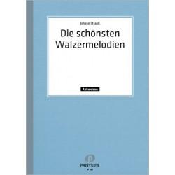 Strauß, Johann (Sohn): Die schönsten Walzermelodien von Johann Strauß (Medley) : für Akkordeon